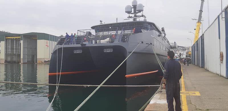 La construcción del buque se estima en 12 millones de euros