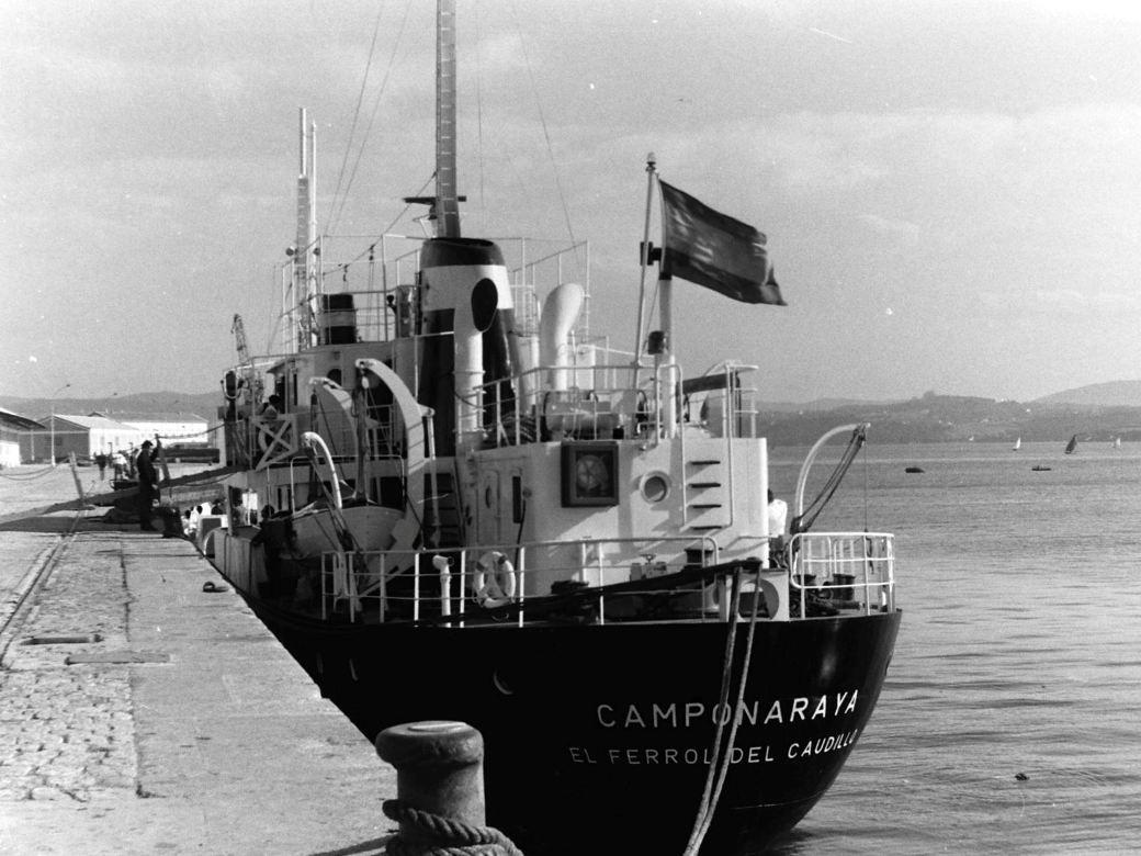 Durante los 25 años de su vida operativa perteneció a la matrícula naval de Ferrol