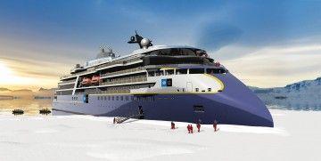 Esta será la apariencia externa de los nuevos buques polares de Lindblad