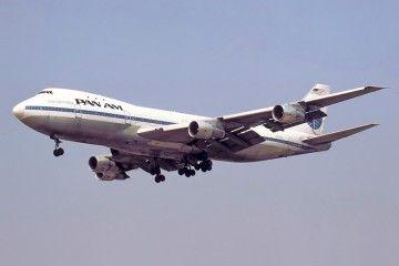 En la imagen, el tercer B-747 serie -100 operado por Pan Am