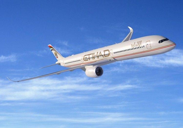 Etihad cancela el contrato  de 42 aviones A350 serie -900