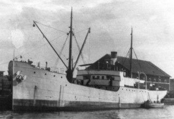 """Estampa marinera del vapor """"Bolívar"""", cuando todavía era sueco"""