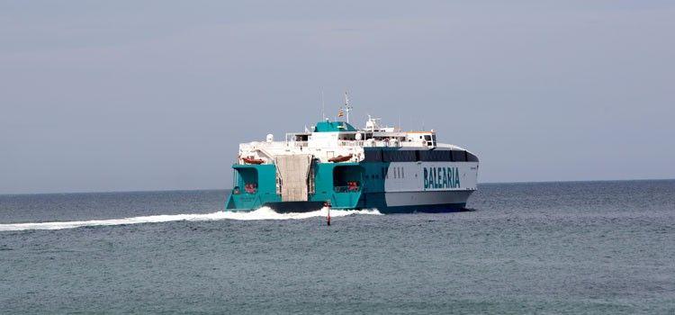 """El catamarán """"Cecilia Payne"""" cubrirá la línea Alcudia-Ciudadela"""