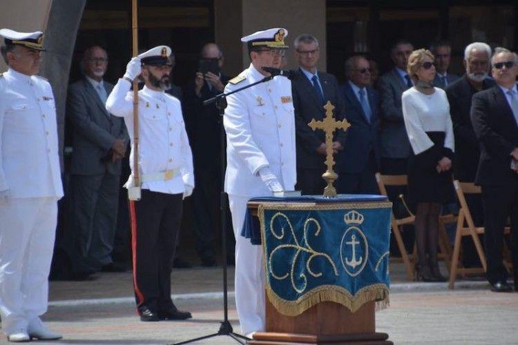 El nuevo almirante del Mando Naval de Canarias jura su cargo