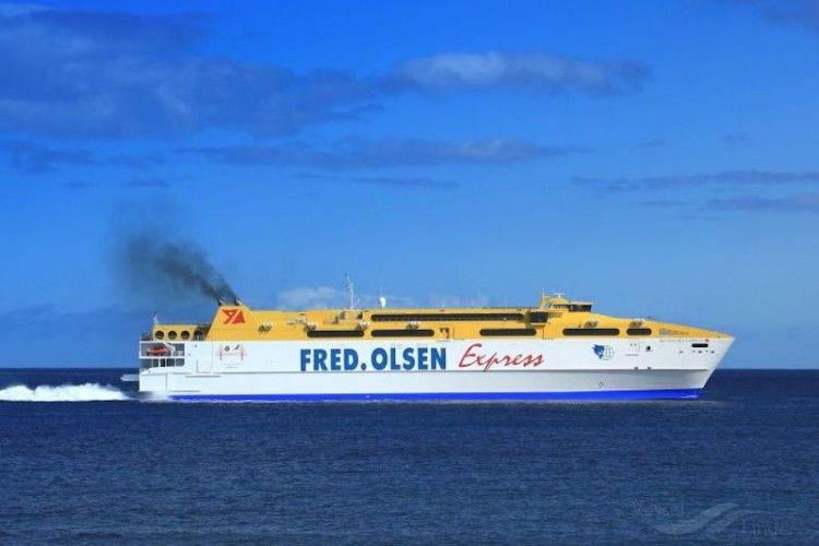 Fred. Olsen Express certifica su huella de carbono ante el Ministerio para la Transición Ecológica