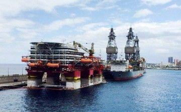 El puerto de Tenerife empuja las plataformas para que se vayan a Las Palmas