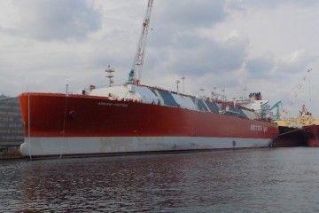 """El buque """"Adriano Knutsen"""" se encuentra en fase de armamento a flote"""
