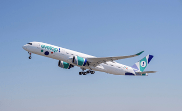 Eveloip ya tiene su primer avión Airbus A350