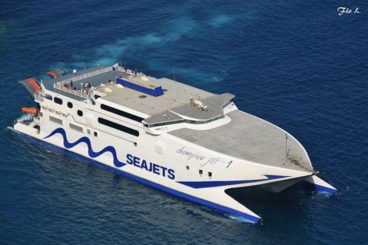 "El catamarán ""Champion Jet 1"" retorna a la línea de Valle Gran Rey"