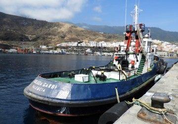 """El remolcador """"Boluda Garbi"""" tiene base en el puerto de Santa Cruz de La Palma"""