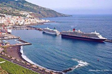 Enero de 2019 no ha sido buen mes para el puerto de Santa Cruz de La Palma