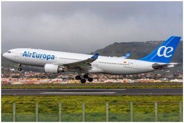 Air Europa mantiene sus vuelos a Venezuela, pese a la inseguridad que vive el país
