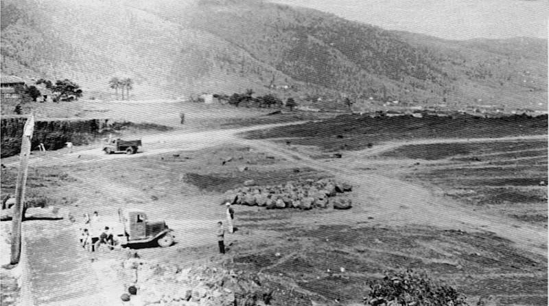 La pista de vuelo del aeropuerto de Buenavista, en obras