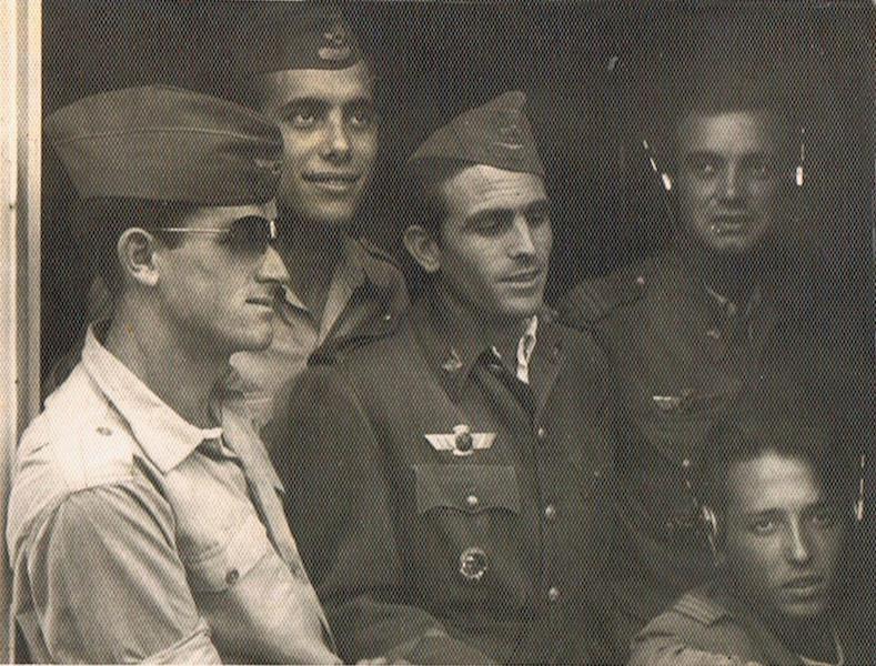 Personal de Aviación destinado en La Palma (sin fecha)