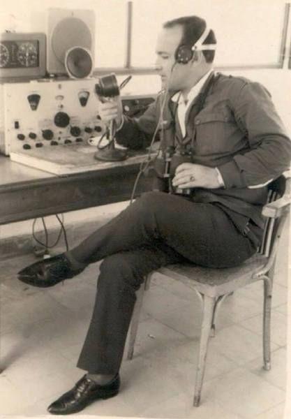 Ángel Concha Prieto, radiotelegrafista del aeropuerto