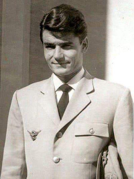 Eugenio Maldonado Villaluenga, comandante del avión accidentado