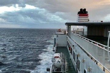 """El buque """"Ciudad Autónoma Melilla"""", uno de los emblemas del Grupo Armas-Trasmediterránea"""