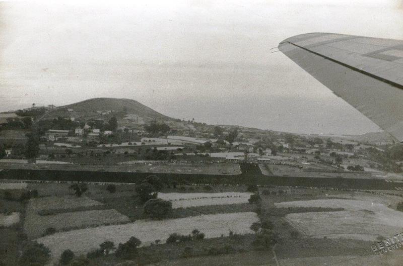 Vista parcial del aeropuerto de Buenavista el día de su inauguración