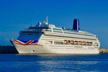 """El buque """"Oriana"""" se despide hoy de Santa Cruz de Tenerife, después de 24 años"""