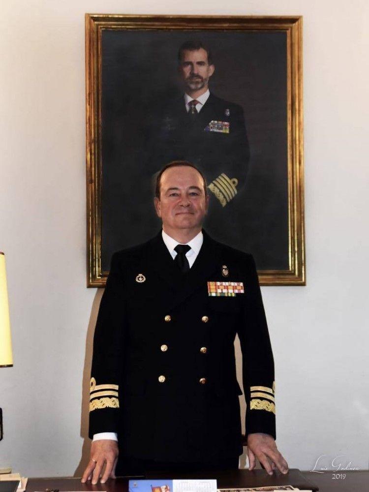 Juan Luis Sobrino Pérez-Crespo, almirante de Acción Marítima