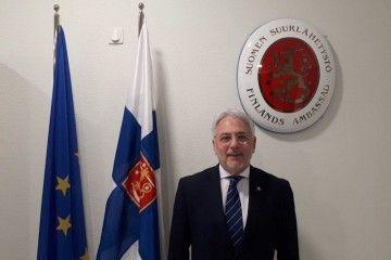 Francisco Javier Ruiz Gil, nuevo cónsul de Finlandia en Barcelona