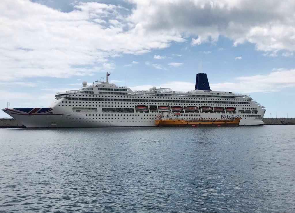 """El buque """"Oriana"""" ha sido un asiduo visitante desde 1995"""