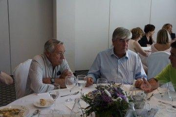 El capitán Francisco Bilbeny Costa (izquierda) y el autor del articulo, Juan Cárdenas Soriano