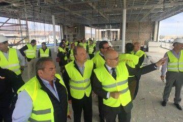 Jaime Cabrera explica los detalles de la nueva terminal de Naviera Armas