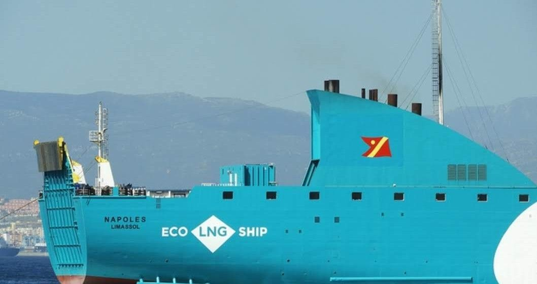 """Detalle de la sección de popa estribor del buque """"Nápoles"""""""