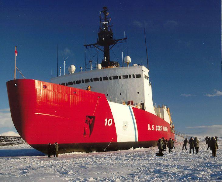 """El incidente en el buque """"Polar Star"""" fue resuelto por su tripulación"""