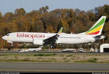 Este es el avión accidentado de Ethiopian Airlines