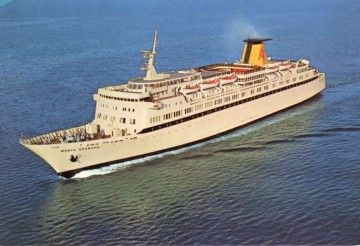 """Estampa marinera del buque """"Monte Granada"""" (1975-1977)"""
