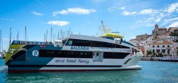 """Los catamaranes """"eco"""" de Balearia enlazan Ibiza y Formentera"""