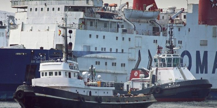 El buque ha sido remolcado al puerto de Durres (Albania)