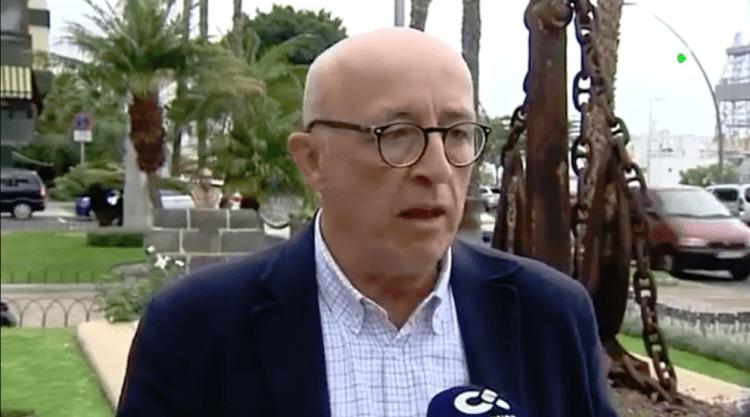 Pedro Suárez, presidente de la Autoridad Portuaria de Santa Cruz de Tenerife