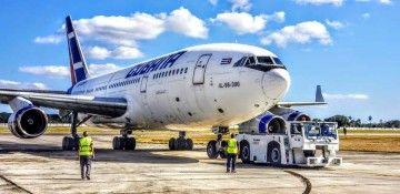 Cubana de Aviación recuperará este avión Il-96 después de seis años inactivo