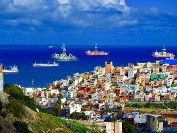 El grueso de las plataformas petrolíferas prefiere estar en Las Palmas