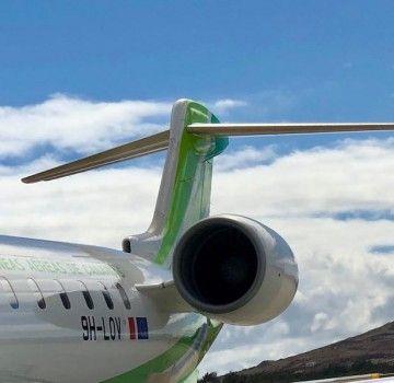 A la flota CRJ-1000 de Binter le queda algo más de seis meses