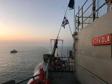 """La presencia del patrullero """"Serviola"""" ahuyentó a los piratas"""