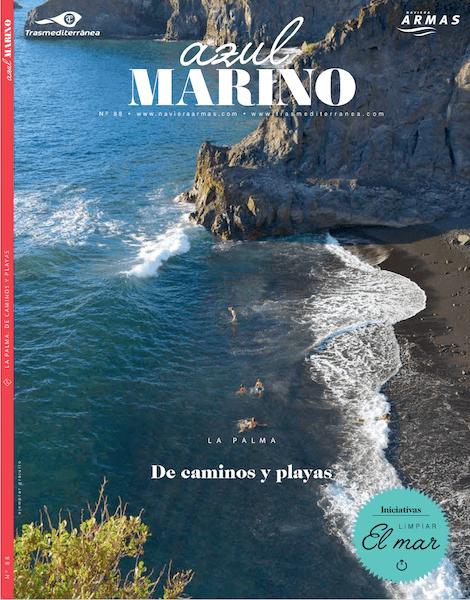Portada de número 88 de la revista Azul Marino del Grupo Armas-Trasmediterránea