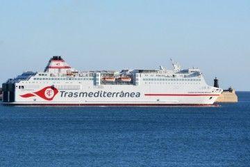 """Estampa marinera del  buque """"Ciudad Autónoma Melilla"""""""