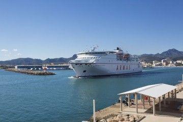 """El ferry """"Volcán de Tijarafe"""" será el punto de encuentro de los empresarios de Gandia e Ibiza"""