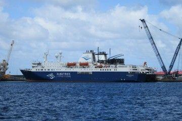 Los buques, abarloados, pertenecen en origen al mismo proyecto