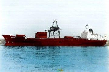"""El buque """"Guadalupe I"""", en el que sucedió la historia del motor principal enfermo"""
