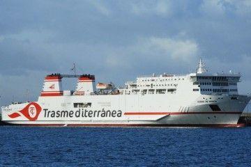 """El buque """"Ciudad de Mahón"""", segundo con este nombre en la historia de Trasmediterránea"""