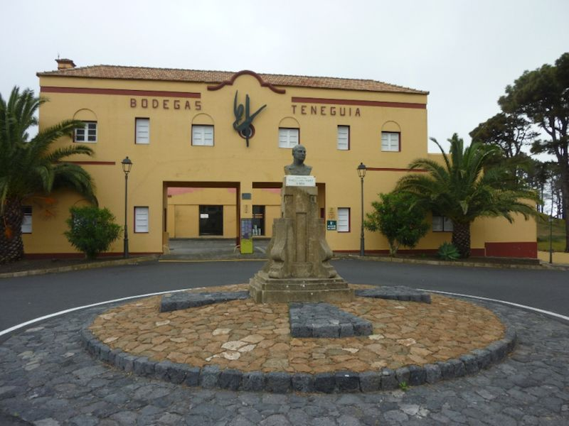 Sede de Bodegas Teneguía, en Fuencaliente de La Palma