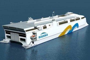 El futuro catamarán de Incat será otro hito para Buqquebús