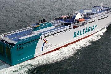 Balearia cambia de barco por tercera vez en la línea Huelva-Canarias