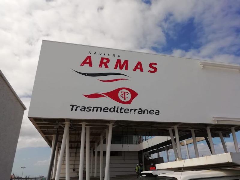 La nueva terminal será la base de operaciones del Grupo Armas-Trasmediterránea en Las Palmas de Gran Canaria