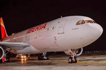 """Un avión A330 de Iberia ostenta el nombre """"La Habana"""""""